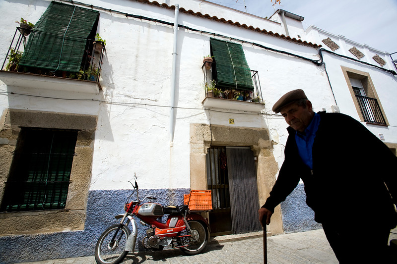 Old man, Brozas, province of Caceres, Spain