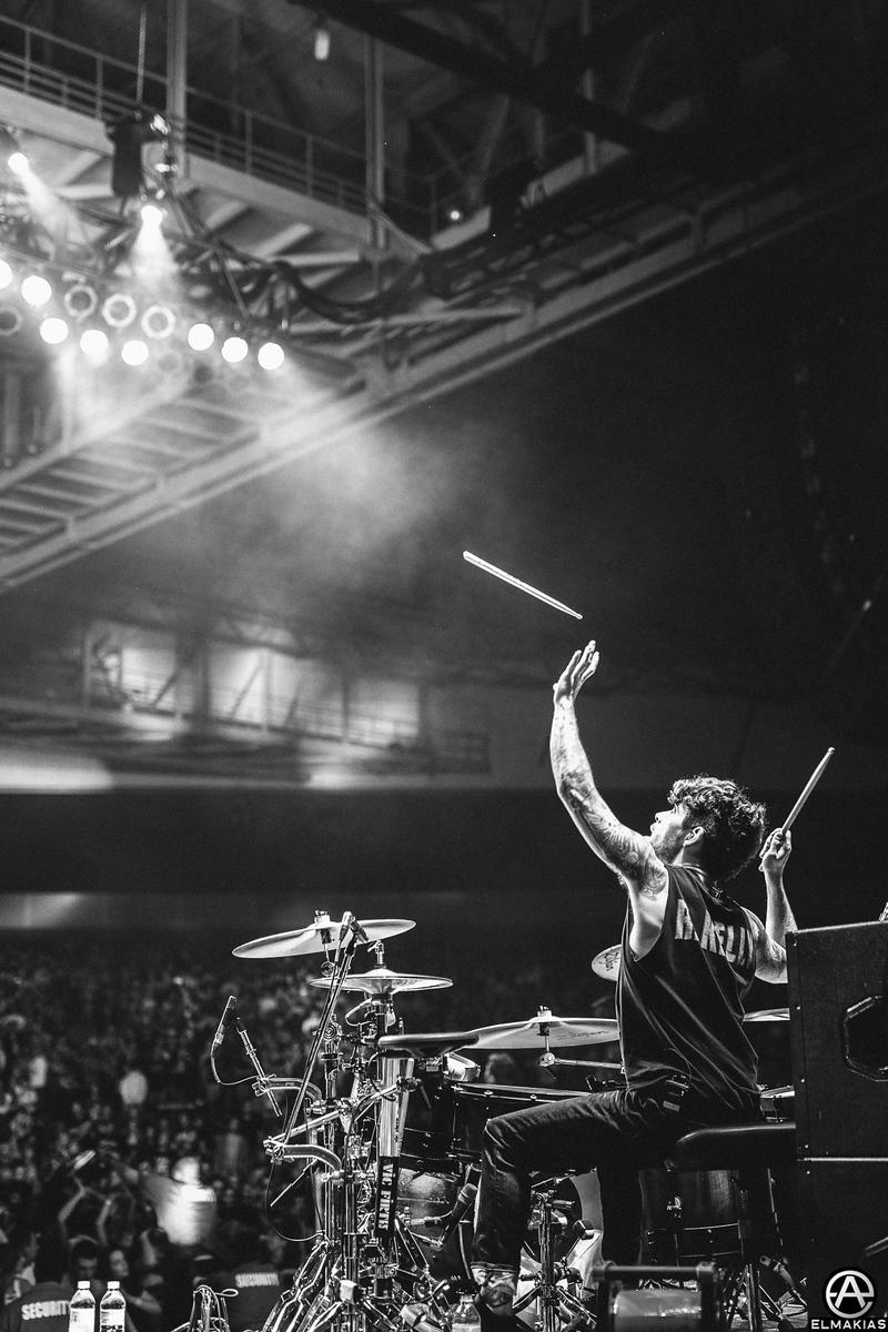 talented Alex Shelnutt stick throw - Parks and Devastation Tour by Adam Elmakias
