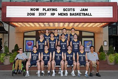 Scots Basketball 2016-2017