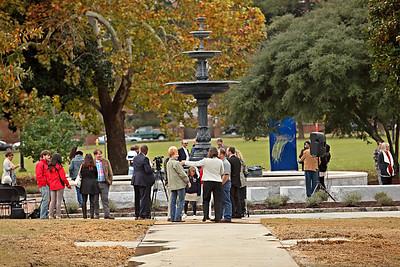 2015 Tattnall Square Park Fountain Dedication