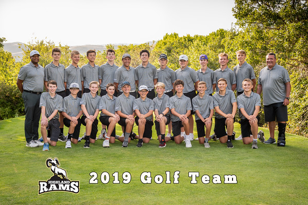 2019 Highland Golf Team