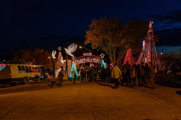 Marble Falls Walkway of Lights - Sat, Dec 13, 2014