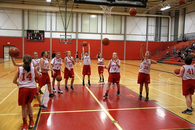 Girls 8th Grade Basketball - 11/8/2017 Grant