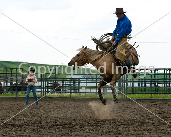 2010 PC Ranchers Rodeo Bronc Riding