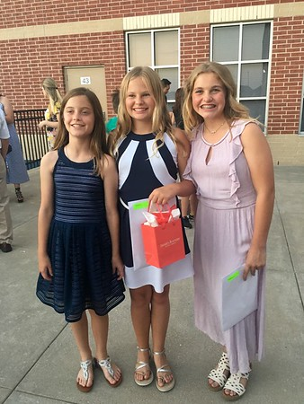 Gabby's 5th Grade Graduation May 2018