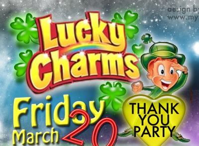 Lucky Charms Thank You Party