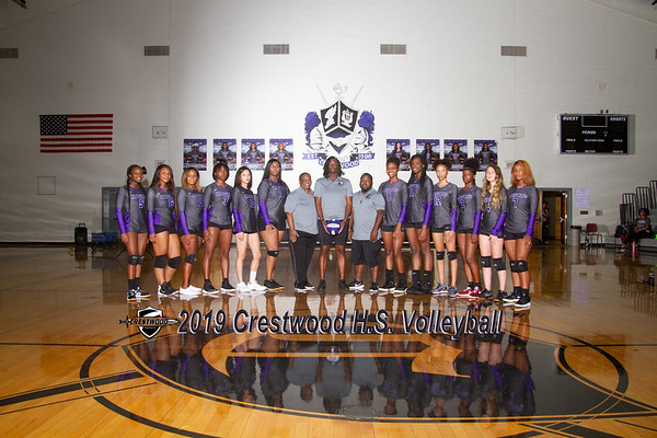 2019 Varsity Volleyball