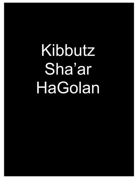 Kibbutz Sha'ar HaGolan