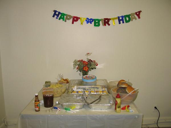 Jane's Birthday 2006