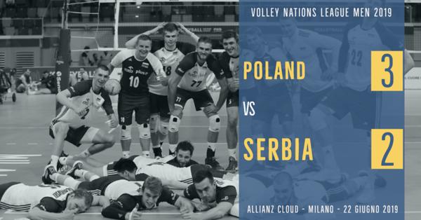 Poland 3 - Serbia 2