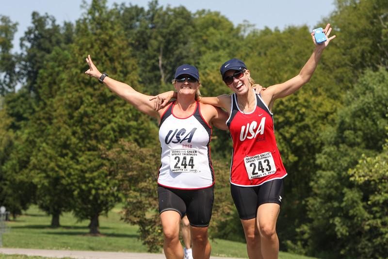 2012 Bowling Green Sprint Triathlon: Run Photos