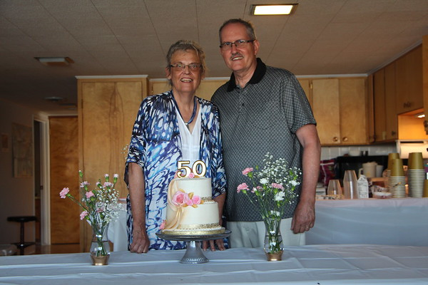 Don & Colleen's 50th Wedding Anniversary