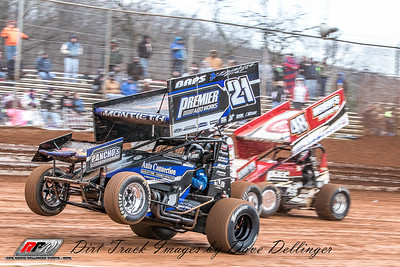 Lincoln Speedway - 3/17/18 - David Dellinger