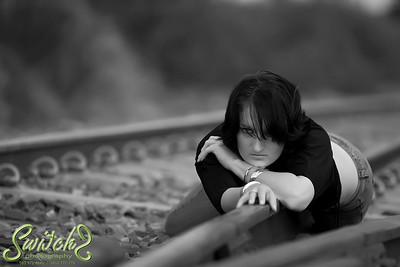 Mandy at the railroads