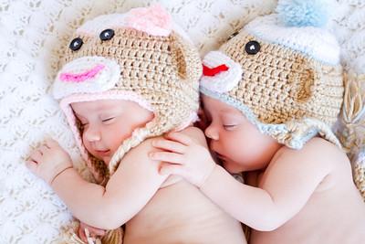 Elizabeth & Caleb { Infant Twins }