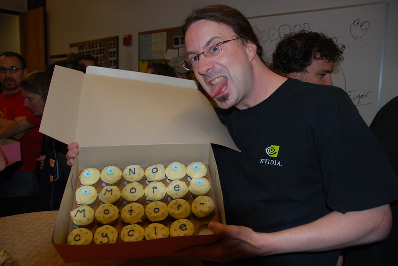 Monthly Cupcake Day - Brent - No More Motorcycles