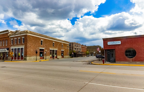 Downtown Evanston, Wyoming