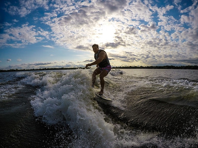 July 21 - Centerville - Learning This Surfing Thing