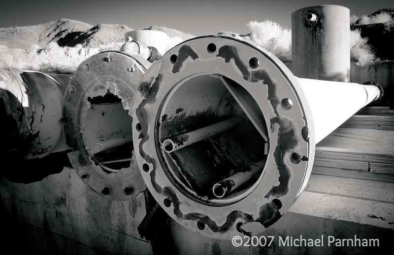 Mojave Mine Pipes, CA