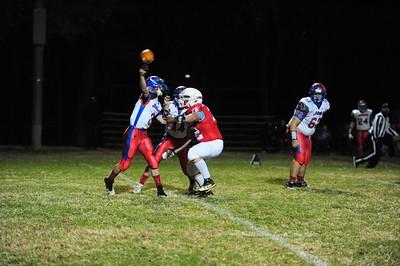 Crest football vs. Hartford 11-6-20