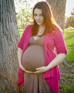 Mandee's Family Maternity Photos