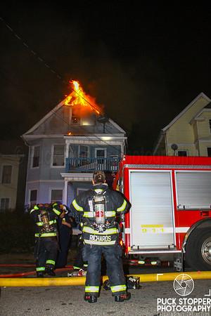 2 Alarm House Fire - 159 Elm St, Orange, NJ - 10/28/18