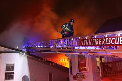 Lynn, MA - 3rd Alarm, 15 Lyman Street, 3-27-13