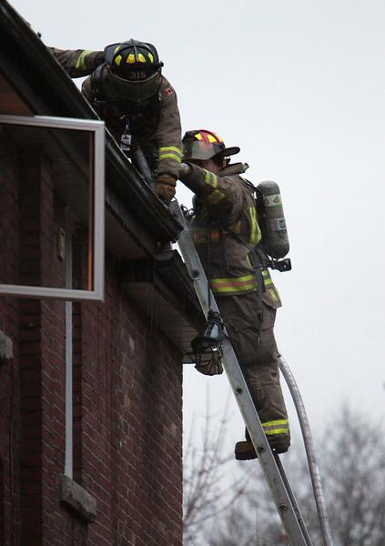 November 16, 2010 - Working Fire - 53 Craighurst Ave.