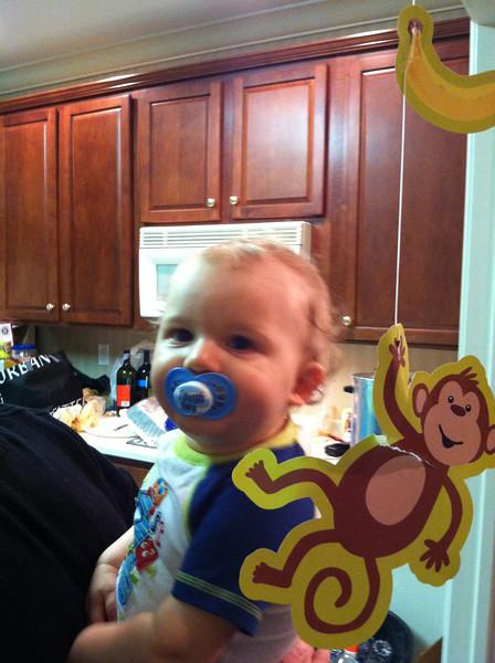 Vincent 1st birthday