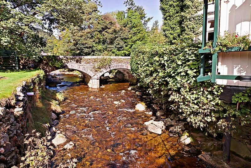 Glendasan River at Glendalough Hotel