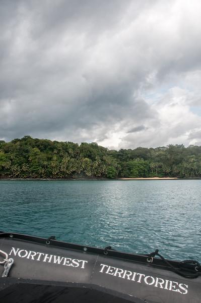 Fishing craft in Principe, Sao Tome and Principe