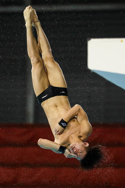 Divers in Action at the FINA Diving Prix 2019, at the OCBC Aquatic Stadium Singapore on 21st Nov 2019. Photo by - Sanketa Anand/Sport Singapore