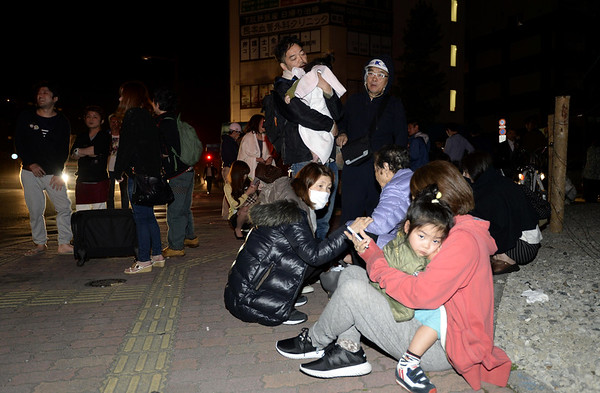 2016-04-15 7.0 Earthquake rattles Japan