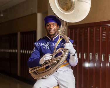 Senior Marching Band Portraits