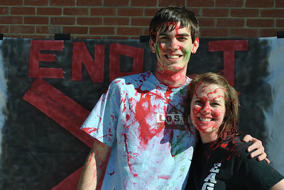 End It Movement Paint Fight