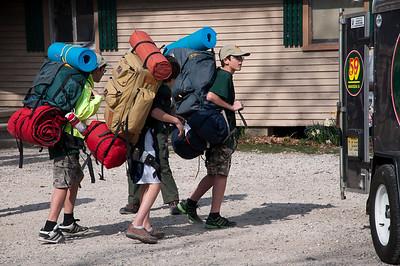 20120324 Batona Trail Camping