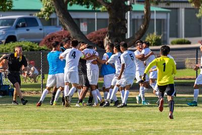 WWCC Men's Soccer vs Wenatchee, Sept 8, 2018