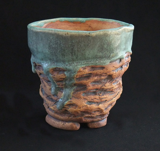 """#552 4 1/4"""" round, 4"""" deep, 5"""" tall **SOLD***"""
