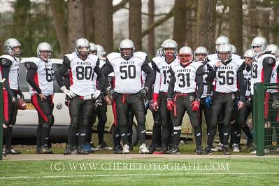 Falcons vs Pirates - Arnhem  March 15, 2015