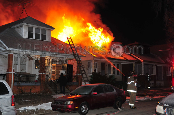 Detroit, MI Box Alarm at 8046 Smart St. March 7, 2011