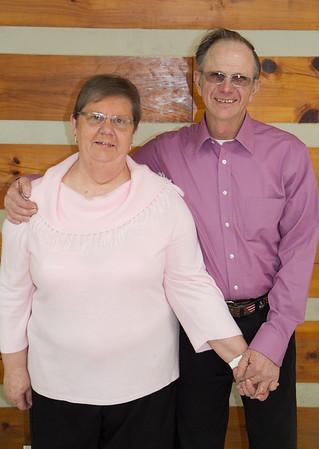 Joyce and Charles 45th Wedding Anniversary