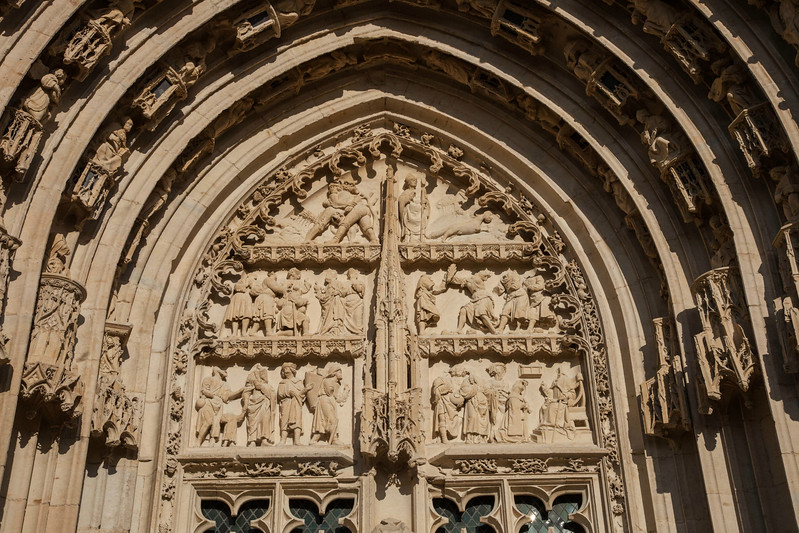 Bourges Cathedral West Facade Portal