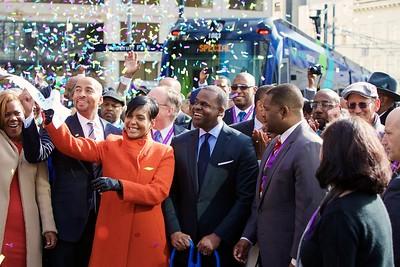Atlanta Streetcar Opening Ceremony