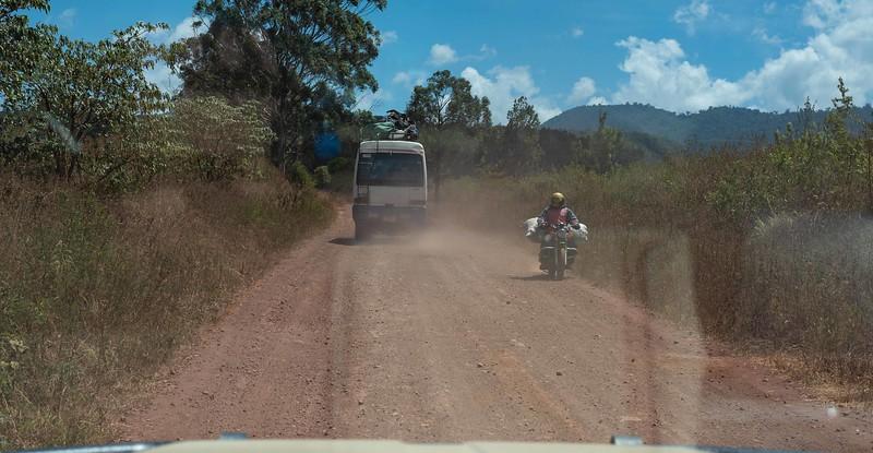 Heading to Kambi ya Tembo Camp