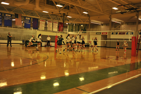 BABSON VOLLEYBALL  10.4.2012
