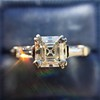 1.17ct Asscher Cut Diamond Tacori Solitaire, GIA G, VS2 7