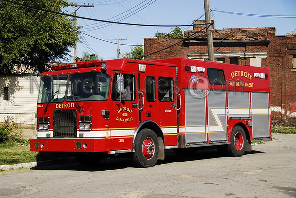 Fire Apparatus of the Detroit Michigan Fire Department. Photos By: Adam Alberti