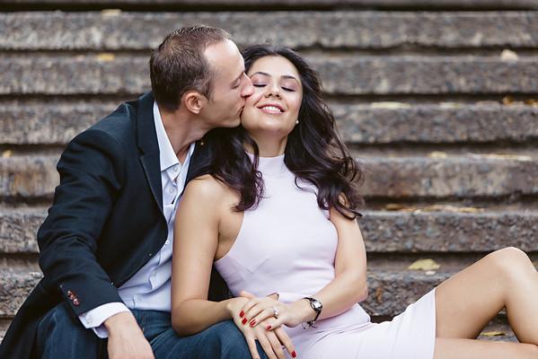 Viktar and Roya Engagement