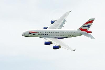 British Airways Airbus A380 Pictures