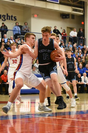 Mineral Point @ New Glarus Boys Basketball 1-7-19